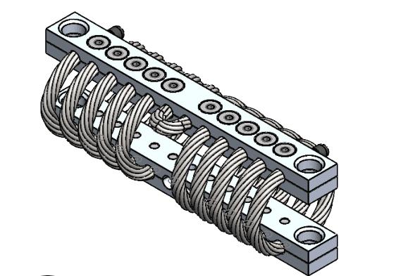 тросовый амортизатор 2 кабельный демпфер